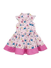 Girls Cup cake dress