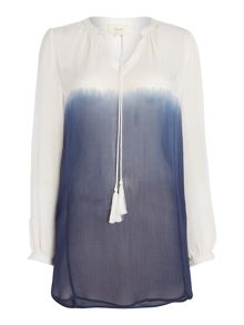 Linea Weekend Komerabi Dip Dye Blouse