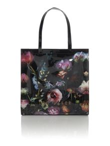 Shocon multi-coloured floral large tote bag