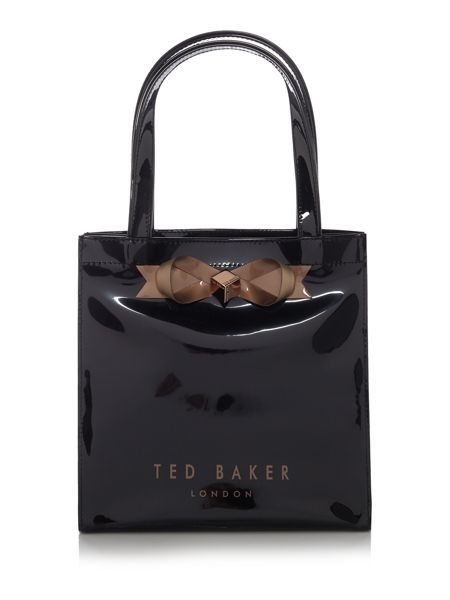 Ted Baker Bowcon black large tote bag