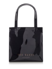 Bowcon black large tote bag
