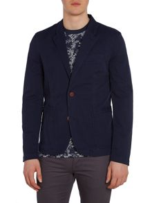 Original Penguin Casual Garment Dye Button Blazer