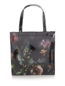 Dowcon multi-coloured small print tote bag