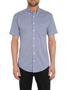 Gingham Classic Fit Short Sleeve Shirt
