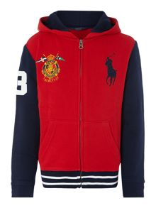 Boys Hoodie With Big Pony