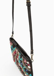 Bead cross-body bag