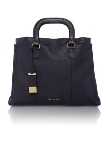 Gaitier navy large tote bag