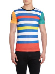 Blomor Ham Stripe Regular Fit Striped T-Shirt