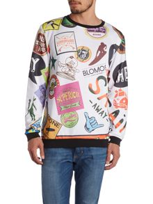 Skate Graphic Crew Neck Jumper