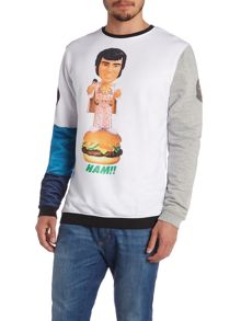Blomor Elvis Playtoy Graphic Colour Block Jumpers