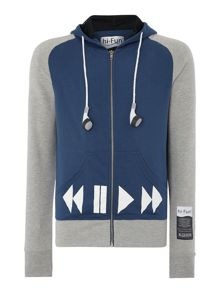 Blomor Ipod Logo Regular Fit Hoodie