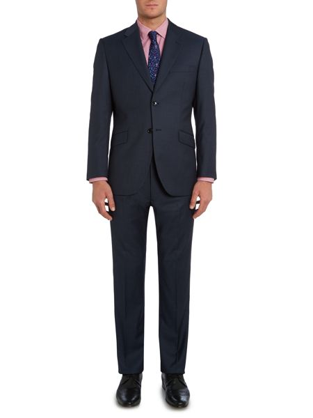 Howick Tailored Eagon Notch Lapel Suit Jacket