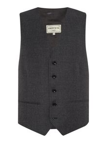Howick Tailored Elmont Flannel Suit Waistcoat