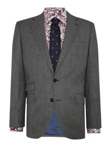 New & Lingwood Hollow Sb2 Dogtooth Suit Jacket