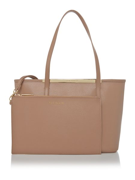 Ted Baker Haileyz top zip small tote bag with pouch