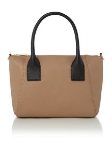 Ted Baker Lauren taupe small tote bag