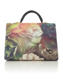 Tayler multi-coloured floral tote bag
