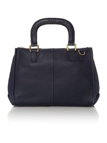 Gaitory navy medium tote bag