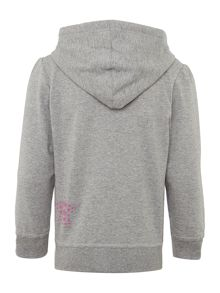 name it Girls hooded sweat top
