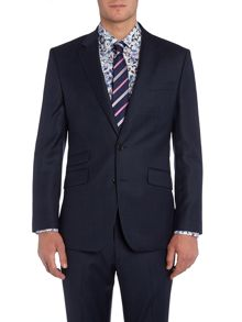 New & Lingwood Pemberley Check Tailored Fit Suit Jacket