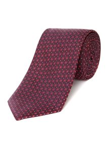 Howick Tailored Cambria Geo Dot Silk Tie