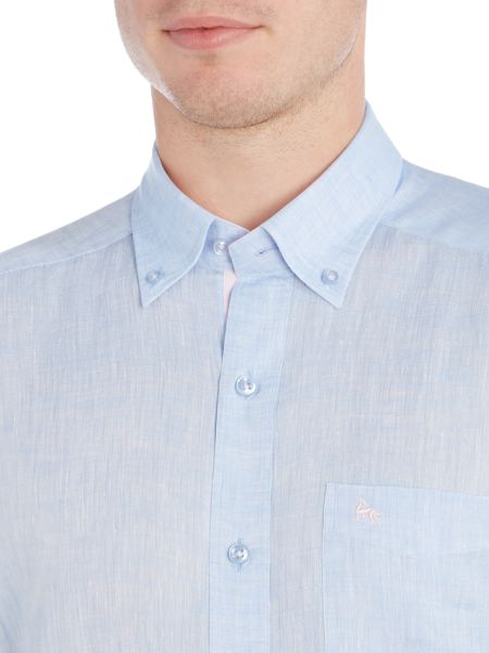 Magee Plain Classic Fit Long Sleeve Button Down Shirt