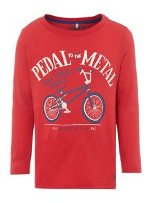 Boys pedal to the metal tee