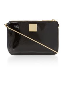 Melanie navy small cross body bag
