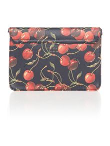Calie multi-coloured cherry cross body bag