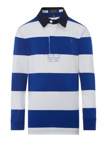 Boys Striped Rugby