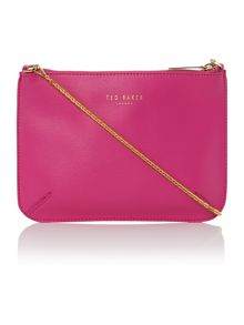 Harley bright pink chain cross body bag