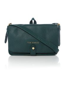 Gaiton dark green cross body bag