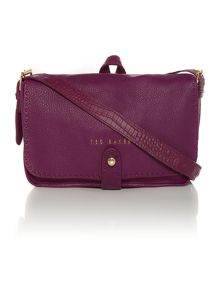 Gaiton purple cross body bag