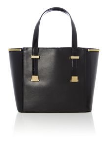 Morgan black tote bag