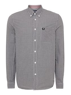 Men's Fred Perry Gingham Classic Fit Long Sleeve