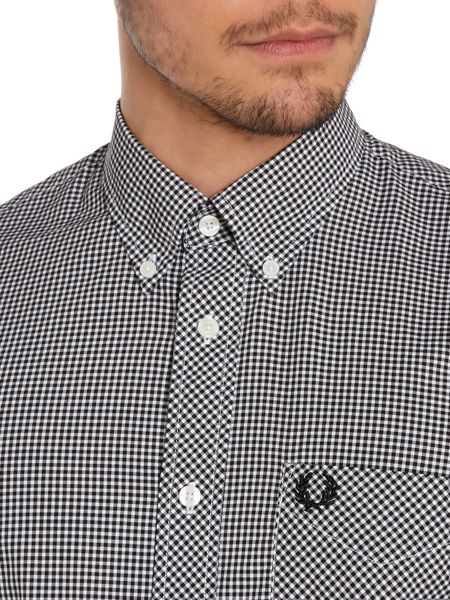 Fred Perry Gingham Classic Fit Long Sleeve Shirt