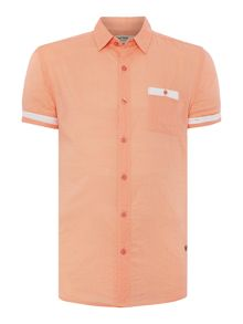 Ezzio Plain Short Sleeve Classic Collar Shirt