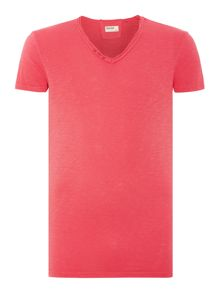 Eliezer Plain Crew Neck Regular Fit T-Shirt