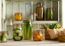 Kilner Set of 3 Clip Top Jars