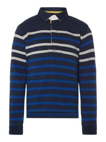Boys Leo striped rugby