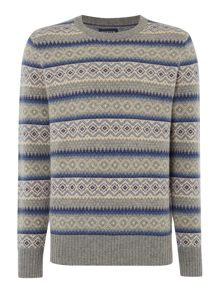 Howick Aspen Fairisle Knit Jumper