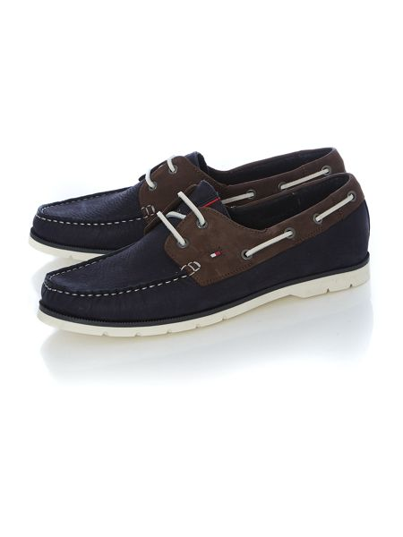 Tommy Hilfiger Cain Lace Up Casual Boat Shoes