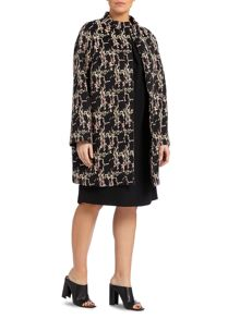 Noemi printed coat