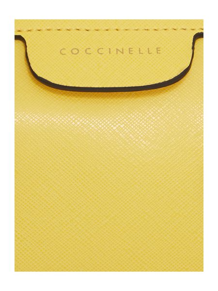 Coccinelle Yellow dome bag