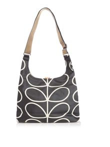 ETC giant stem mono print crossbody bag