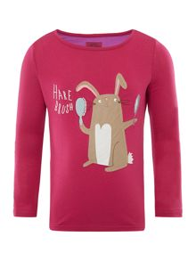 Girls Hare-brush tee