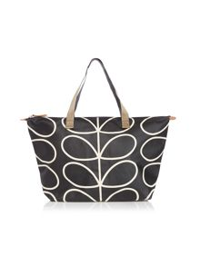 ETC giant stem mono print tote bag