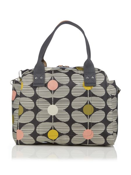 Orla Kiely Daisy stem multi tote crossbody bag