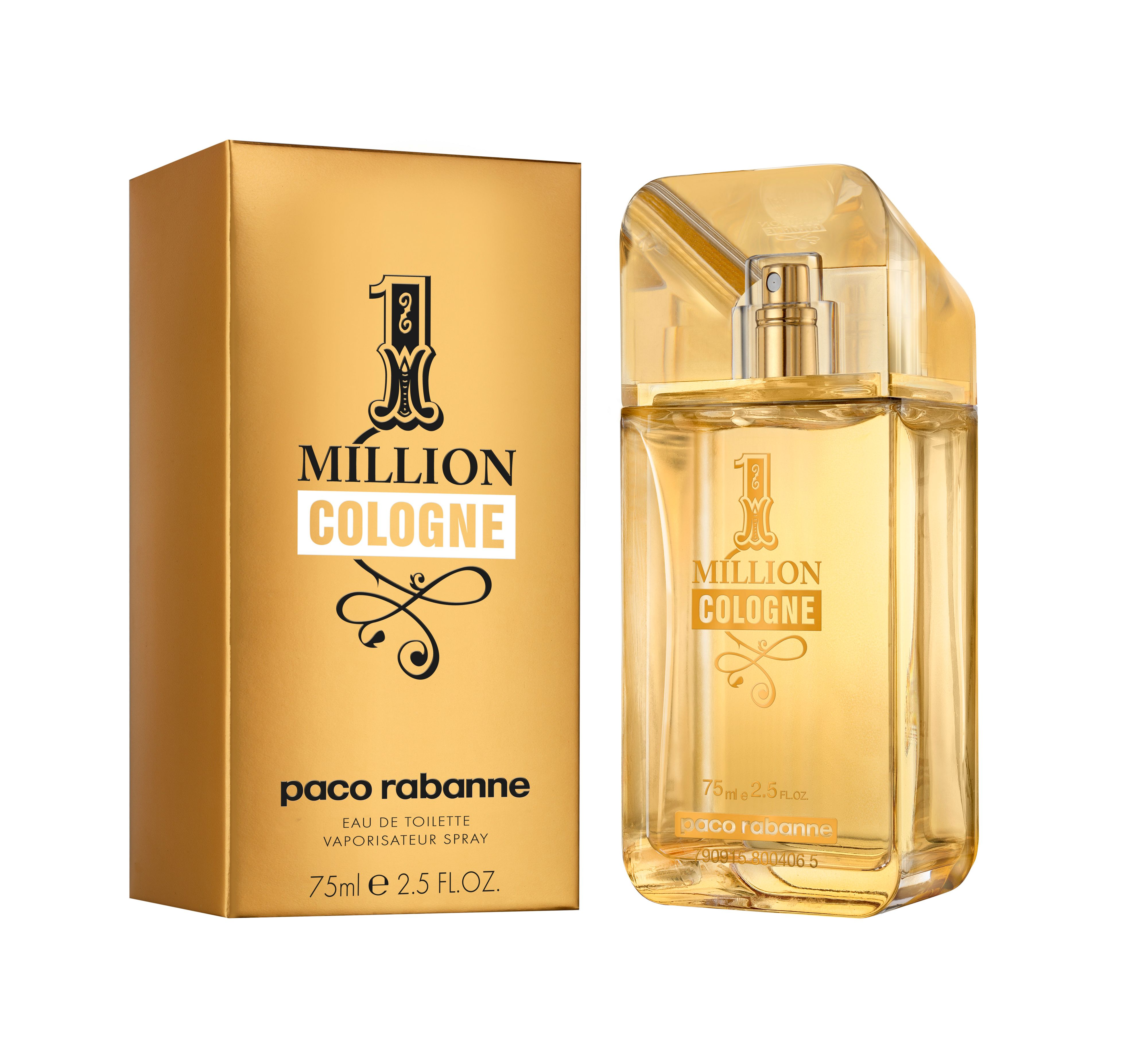 Paco Rabanne 1 Million Eau de Cologne 75ml
