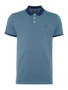 Hayward Stripe Polo Short Sleeve Shirt